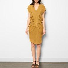 Masscob Vestido Cuello V Lino-listing