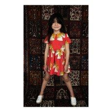 Mini Rodini Organic Cotton Unicorn Skater Dress-product