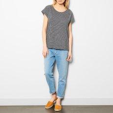 Des petits hauts T-shirt Coton et Lin Boutonné Rayé Jasale-listing