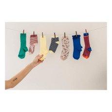 Bonton Lurex Striped Socks-listing