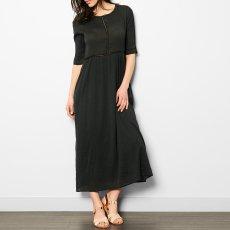 Pomandère Kleid aus Baumwolle und Seide -listing