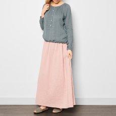 Numero 74 Blouse Manches longues Naia - Collection Ado et Femme - Bleu gris-product