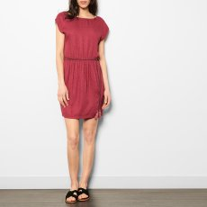 Sessun Marsa Low Back Textured Dress-listing