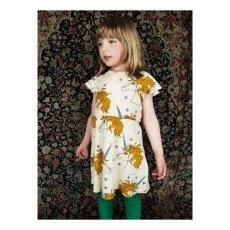 Mini Rodini Organic Cotton Unicorn Ruffled Dress-listing