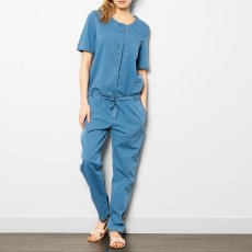 Labdip Mae Button-Up Chambray Jumpsuit-listing