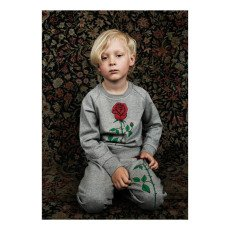 Mini Rodini Organic Cotton Rose Sweatshirt-product