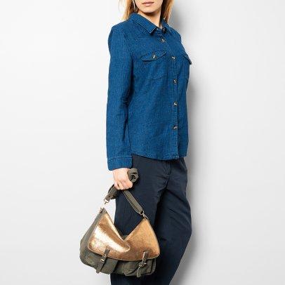 Craie Maths Maxi Leather + Canvas Reversible + Adjustable Bag-listing