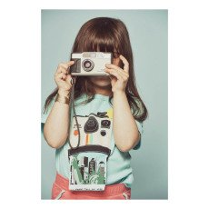 Milk on the Rocks T-shirt Polaroid -listing