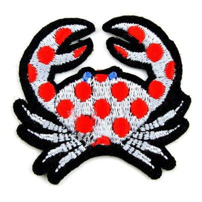 Macon & Lesquoy Polka Dot Crab Badge-listing