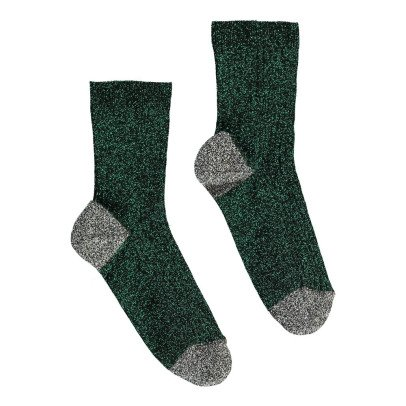 Polder Girl Two-Tone Lurex Socks-product