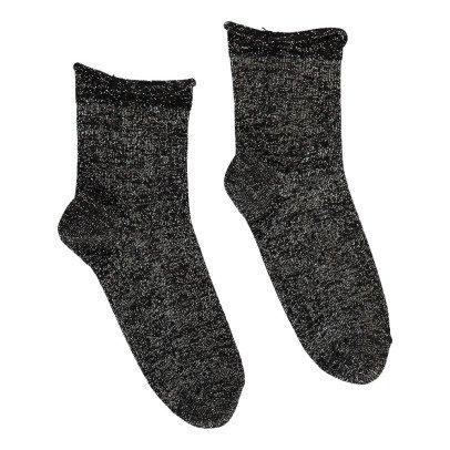 Polder Girl Socken Lurex Pile -listing