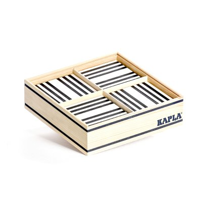 Kapla Schwarz/Weiß-Set- 100 Steine -listing