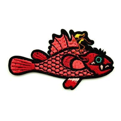 Macon & Lesquoy Aufnäher Fisch Surfen-listing