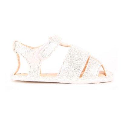 Easy Peasy Nonno Velcro Leather Sandals-listing