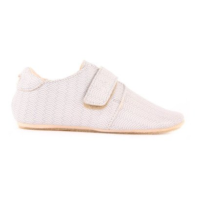Easy Peasy Patucos Cuero Velcro Sombrero-listing