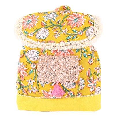 Louise Misha Samsara Pompom Flower Backpack-product