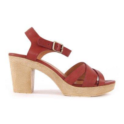 Sessun Oro Crossed Sandals-listing