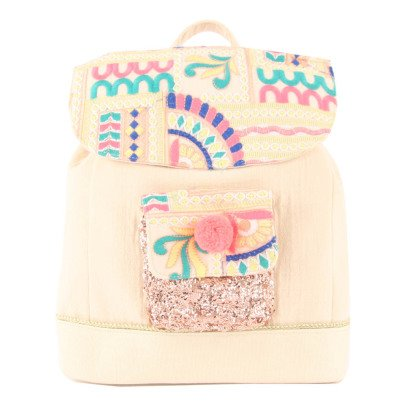 Louise Misha Nepal Embroidered Sequin Backpack-listing