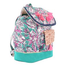 Louise Misha Fluo Pompom Floral Backpack-product