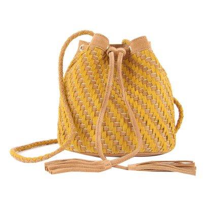 Petite Mendigote Soho Woven Saddlebag-listing