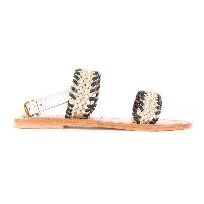 Petite Mendigote Sandalen aus Leder Nappa -listing