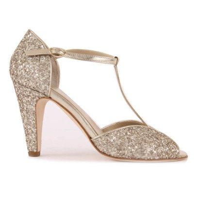 Anniel Zapatos de tacón Cuero y Paillettes-listing