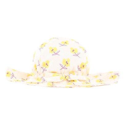 Omibia Sombrero Algodón Biológico Flores Lady-listing