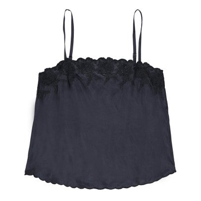 Louise Misha Top Cupro Brodé Julia - Collection Femme --listing