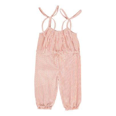 Le Petit Lucas du Tertre Striped Jumpsuit-listing