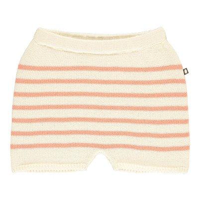 Oeuf NYC Shorts di maglia a righe-listing