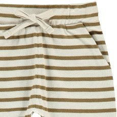 Imps & Elfs Organic Cotton Striped Jogging Bottoms-listing