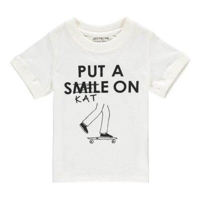 "ARCH & LINE  ""Put A Skate On"" Organic Cotton T-Shirt-listing"