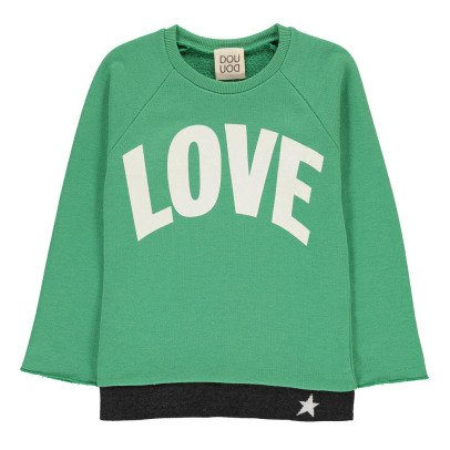 Douuod Sweatshirt Loose Love Stunt Man-listing