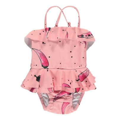 Soft Gallery Maillot de Bain 1 Pièce Volants Piments Shirley-listing