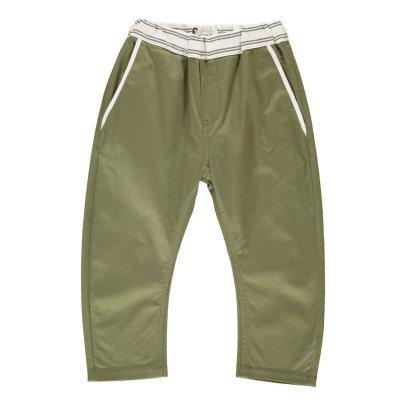 ARCH & LINE Pantalón Cintura contrastada-listing
