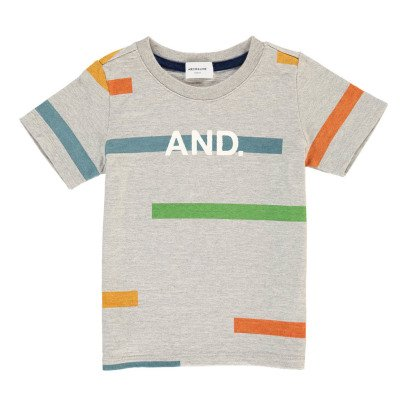 "ARCH & LINE Camiseta Gráfica ""AND""-listing"