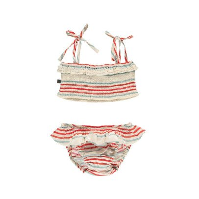 Oeuf NYC Pima Cotton Striped 2 Piece Swimsuit-product