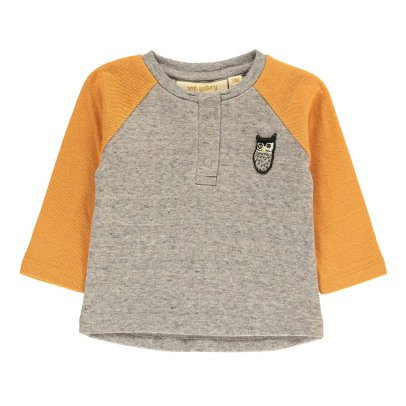 Soft Gallery T-Shirt Bicolore Hibou Viggo-listing