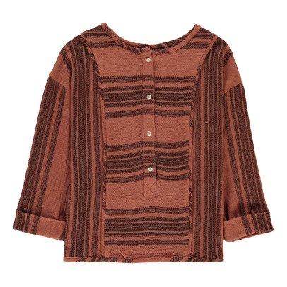 Polder Paros Striped Blouse-listing