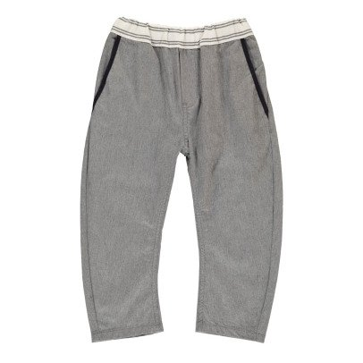 ARCH & LINE Contrasting Trousers-listing