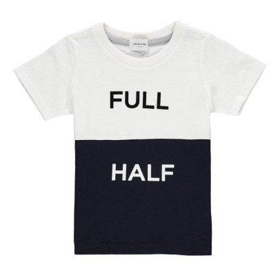 """ARCH & LINE Camiseta Bicolor """"Full Half""""-listing"""