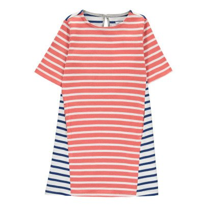 ARCH & LINE Full Two-Tone Striped Dress-listing