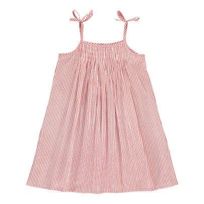 Le Petit Lucas du Tertre Vestido Rayas Violette-listing