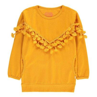 Munsterkids Pony Ride Pompom Sweatshirt-listing