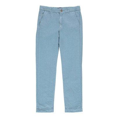Morley Pantaloni Chino Cotone e Lino Obius-listing