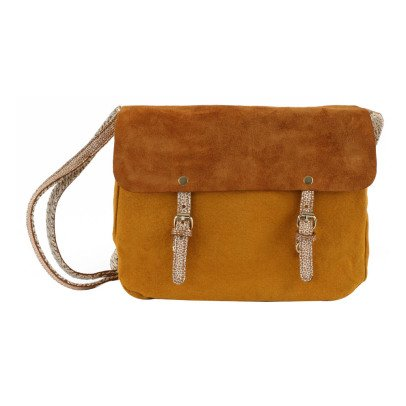 Craie Maths Mini Leather + Canvas Reversible + Adjustable Bag-listing