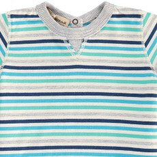 De Cavana Striped T-Shirt-listing