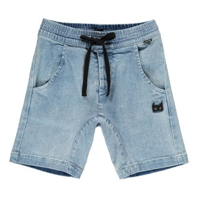 Munsterkids Fletcher Denim Bermuda Shorts-listing
