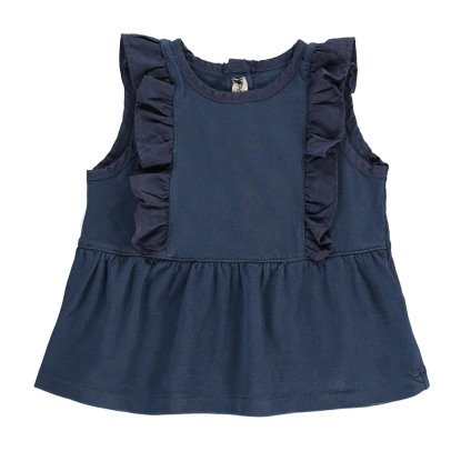 De Cavana Ruffled Top-listing