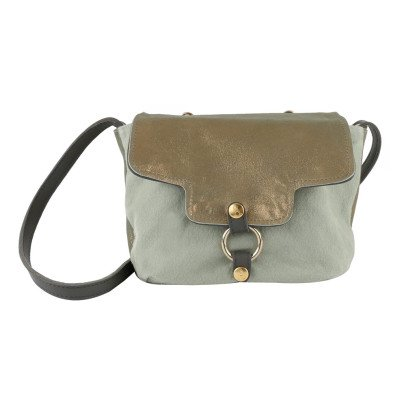 Craie Vidéo Leather + Canvas Reversible + Adjustable Bag-listing
